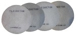6 inch Set of four Burnishing Pads inc  No 1,2,3 and 4